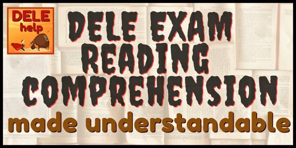 For effective DELE / SIELE / OPI Exam Prep, know the curriculum