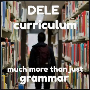 DELE exam FAQs the curriculum is more than just grammar